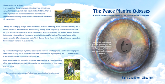 The Peace Mantra Odyssey CD Launched